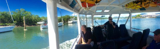 Duck About Tours: Travelling up the inlet