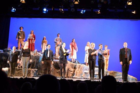Siamsa Tire National Folk Theatre : Siamsa Tire Natl' Folk Theatre players