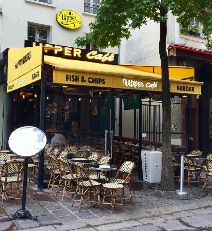 Upper Cafe Rue Lombards