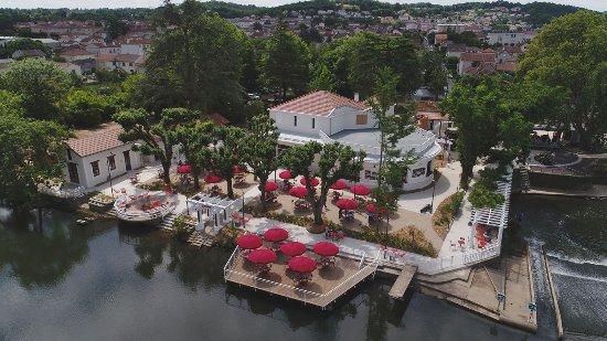 Boulazac, France: Vue aérienne de l'établissement