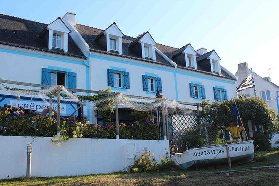 Locmaria, Frankrike: Un cadre agréable