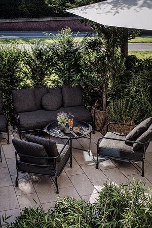 mauritzhof hotel m nster terrasse bild von mauritzhof hotel m nster m nster tripadvisor. Black Bedroom Furniture Sets. Home Design Ideas