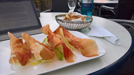 Renningen, Germany: Parma-Schinken mit Melone