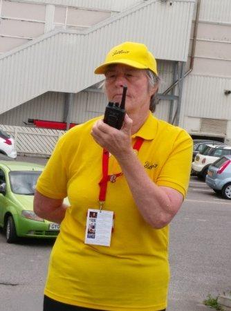 Bognor Regis, UK: Watch out for this car park attendant