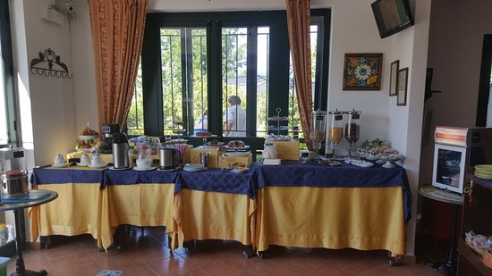 B&B Villa Maria Giovanna : Buffet colazione