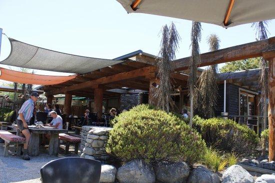 Cheviot, Nueva Zelanda: La terrasse