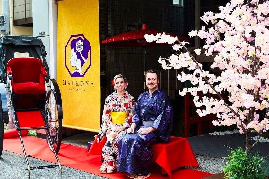 Kimono Tea Ceremony Kyoto Maikoya - Osaka Branch