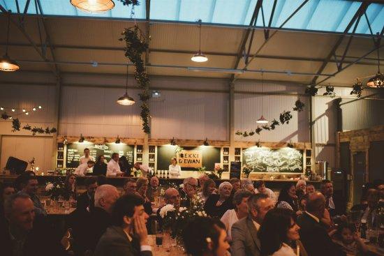 Longhope, UK: Wedding at Hillside Brewery