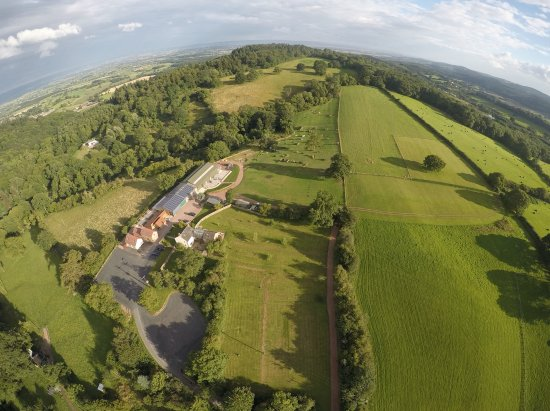 Longhope, UK: Birds eye view of our lovely Hillside Brewery