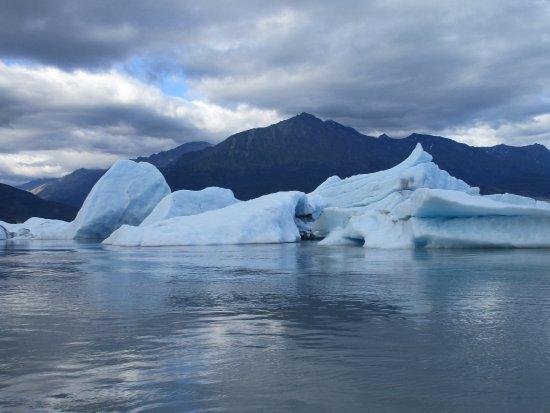 Knik Glacier Tours: Eisberge im See