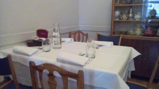 Gasthaus Woracziczky: table setting
