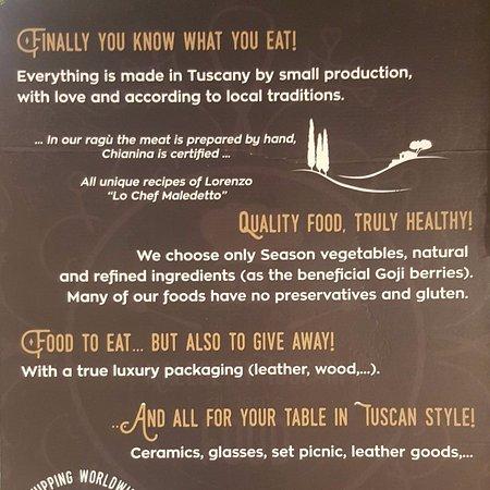 Quality Food - Picture of Maledetti Toscani Food, Cortona - TripAdvisor