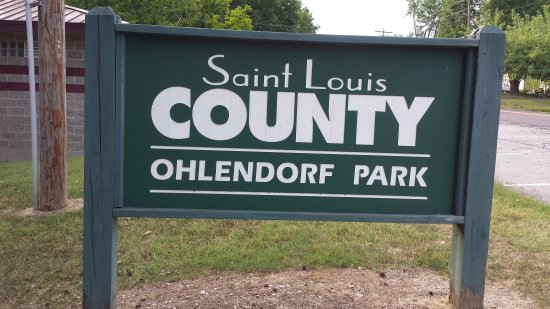 Affton, MO: Sign for the park