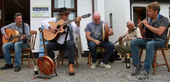 Bere Island, Irland: Music is a big part of our heritage