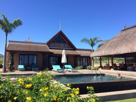 Club Med Albion Villas - Mauritius: View of our villa from garden