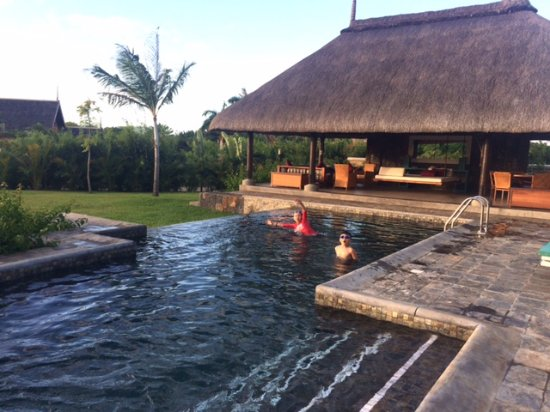 Club Med Albion Villas - Mauritius: View of the Mauritius Veranda next to our private pool
