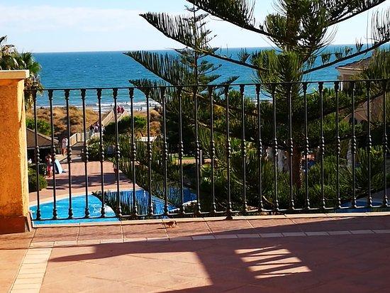 Barcelo Punta Umbria Mar: Vista desde la terraza