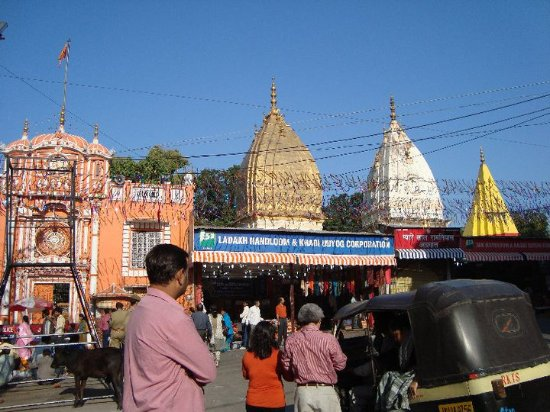 Jammu, India: The temple
