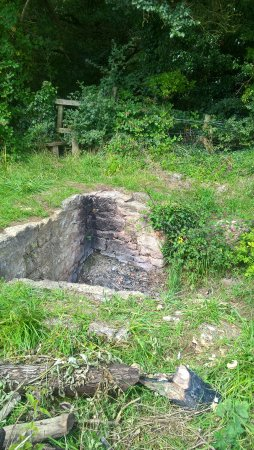 Buckingham, UK: Remains of Well