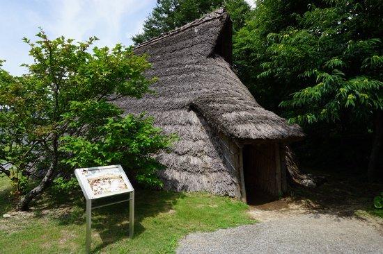 Shirakawa, Ιαπωνία: 屋外展示の竪穴式住居