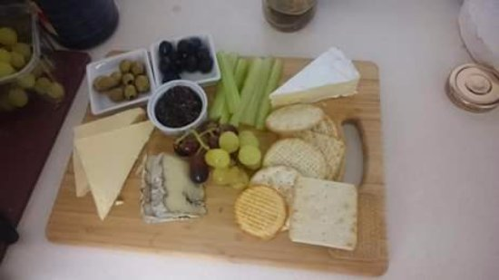 Nether Stowey, UK: Cheeseboard