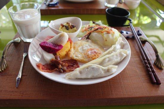 Taroko Aluwa homestay : indeed a healthy breakfast!