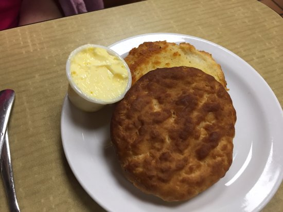 Wildwood, FL: GRILLED?? biscuit