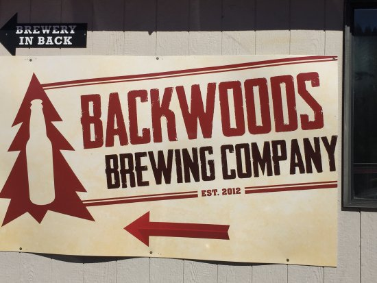 ‪‪Carson‬, واشنطن: Backwoods Brewing Company.‬