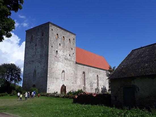 Poide, Estonia: Saaremaa Pöide Maarja kirik