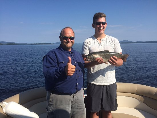 Greenville, ME: Great Brook Trout catch with Eric at Northwoods Outfitters