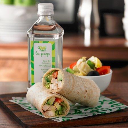 La Prep: Chicken Avocado Wrap