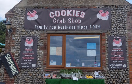 Cookie's Crab Shop: Shop Front