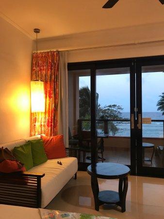 Anse Forbans, Seychellen: Chambre colorée