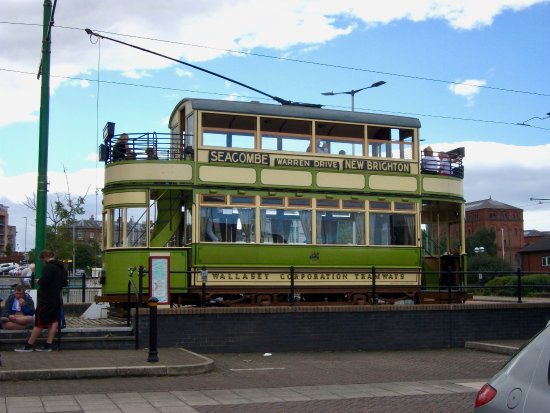 Wirral Transport Museum: Tram at Woodside Ferry Terminal