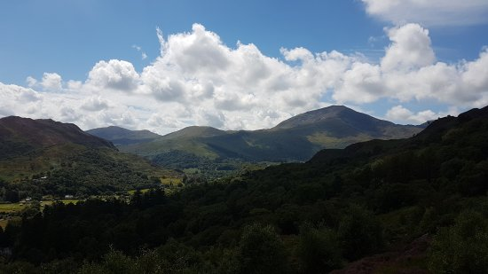 Beddgelert, UK: Beautiful walk with fantastic views