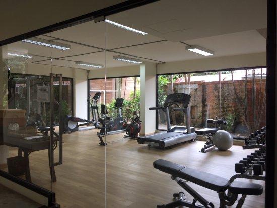 De Naga Hotel: Fitness Centre