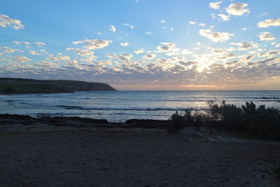 Kingscote, Australien: Ending our day at the beach at sunset