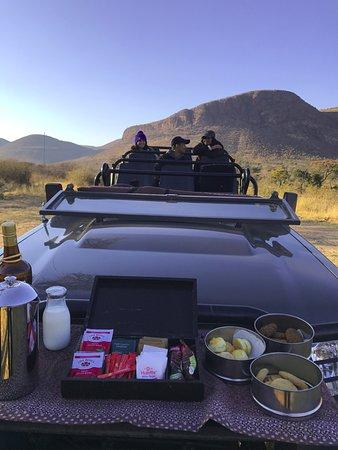 ทาบาซิมบิ, แอฟริกาใต้: Pre-breakfast treats