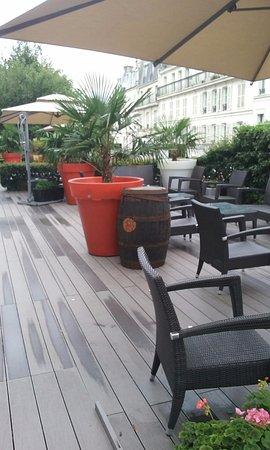 Mercure Paris Montmartre Sacre Coeur: La terrasse un endroit super
