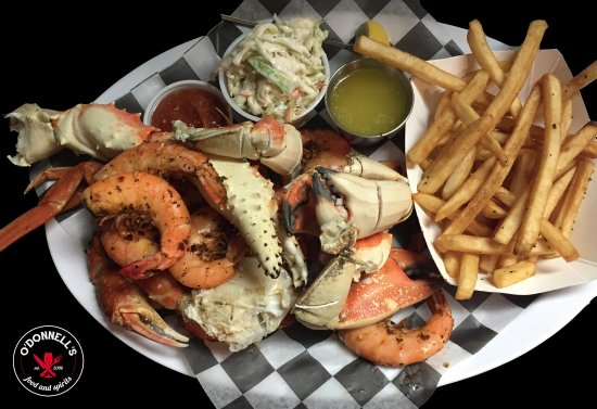 Gouldsboro, PA: Fresh crab leg special every day through the summer!
