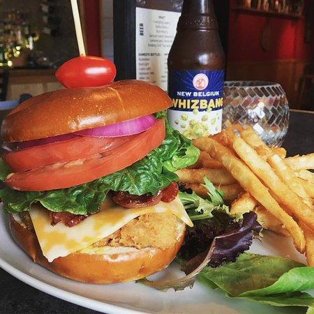 Gouldsboro, PA: Pretzel Chicken Sandwich