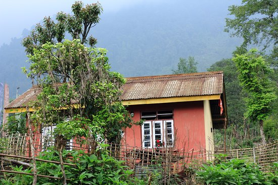 Yuksam is a heritage village in the Geyziing, West Sikkim. A small home of Locals in the picture