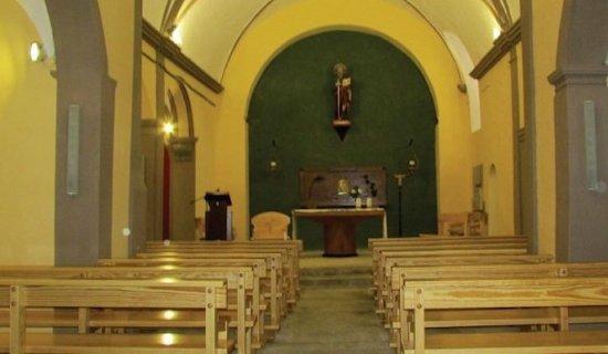 Església de Sant Pau, Sant Pau de Seguries, (Ripollès, Gérone, Catalogne), Espagne.