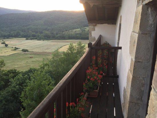 Akerreta, Espagne : Off our balcony.