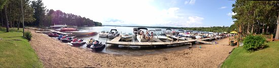 Crosslake, MN: Docks