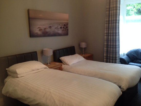 The Parks Guest Accommodation: Ground Floor en-suite can be set up as a twin or a double