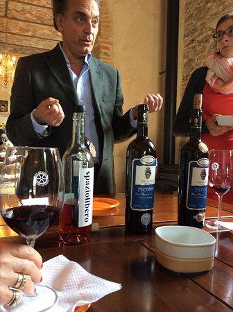 Chiaveretto, Italia: Winery Tour