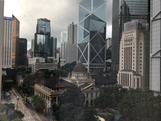 Mandarin Oriental, Hong Kong: Gorgeous views from our room
