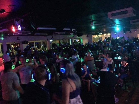 Hendra Holiday Park: Silent disco at hendra