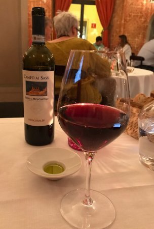 Ristorante & Wine Bar dei Frescobaldi : Quite delicious and one of those bottles that would be absolutely perfect for sharing with frien